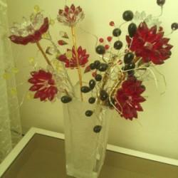 گل های فانتزی- کریستالی