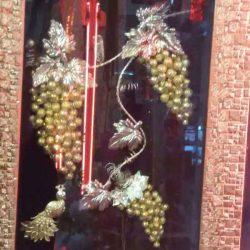 تابلوی خوشه انگور طلایی